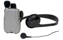 Personal amplifier for hearing aids
